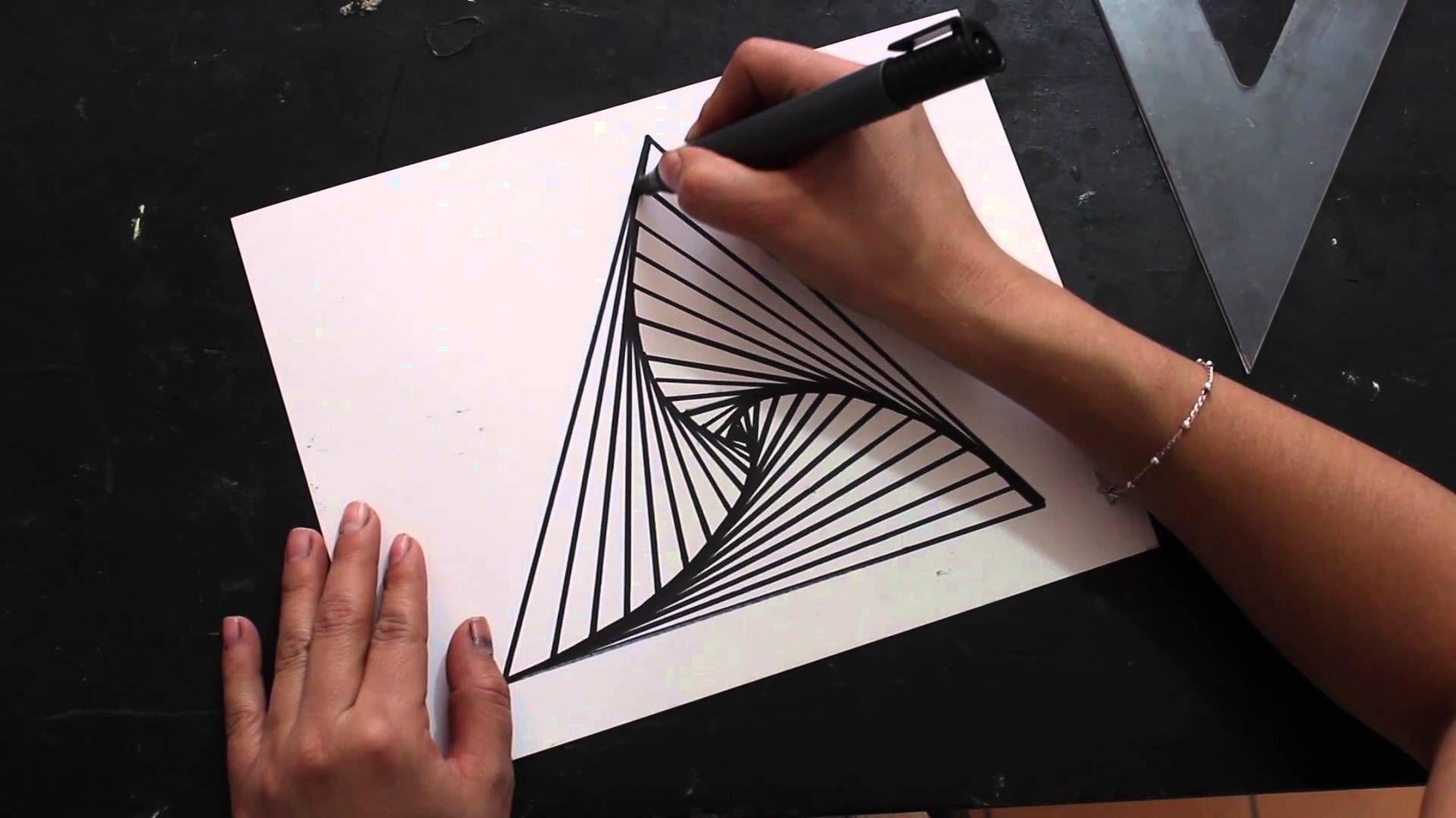 El Op Art Es Un Movimiento Artistico Nacido En Estados Unidos A Mediados De Los 60 X60 S Que Hace Uso De Las Arte Optico Imagenes De Arte Imagenes Abstractas