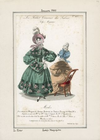 Lady's Magazine Januar 1832