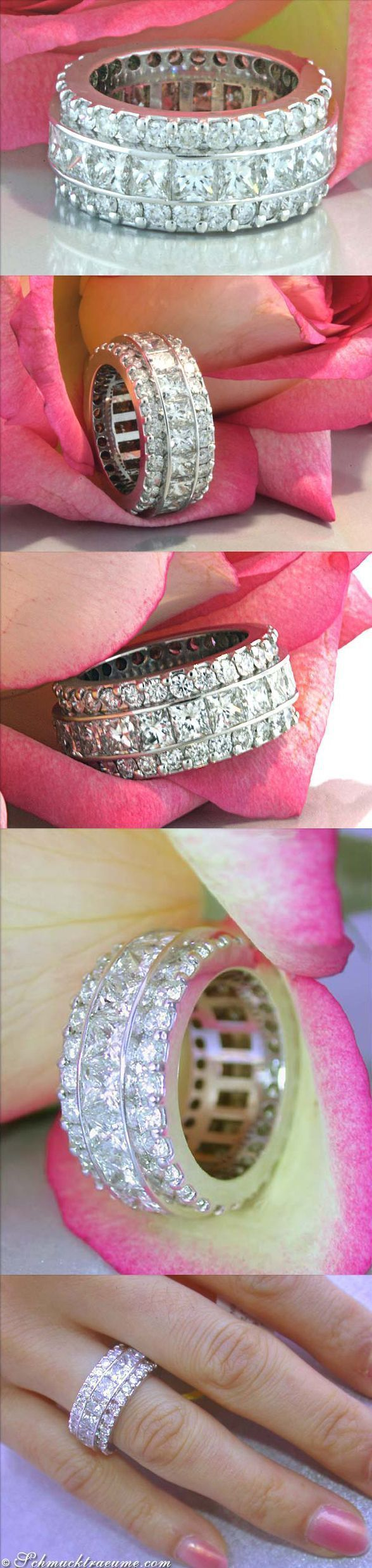 Idée et inspiration Bague Diamant : Image Description High-end ...