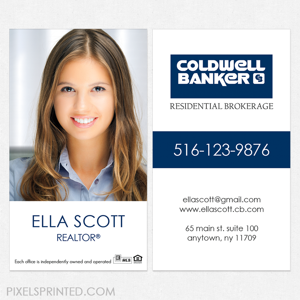 Coldwell Business Cards Coldwell Banker Business Cards Coldwell