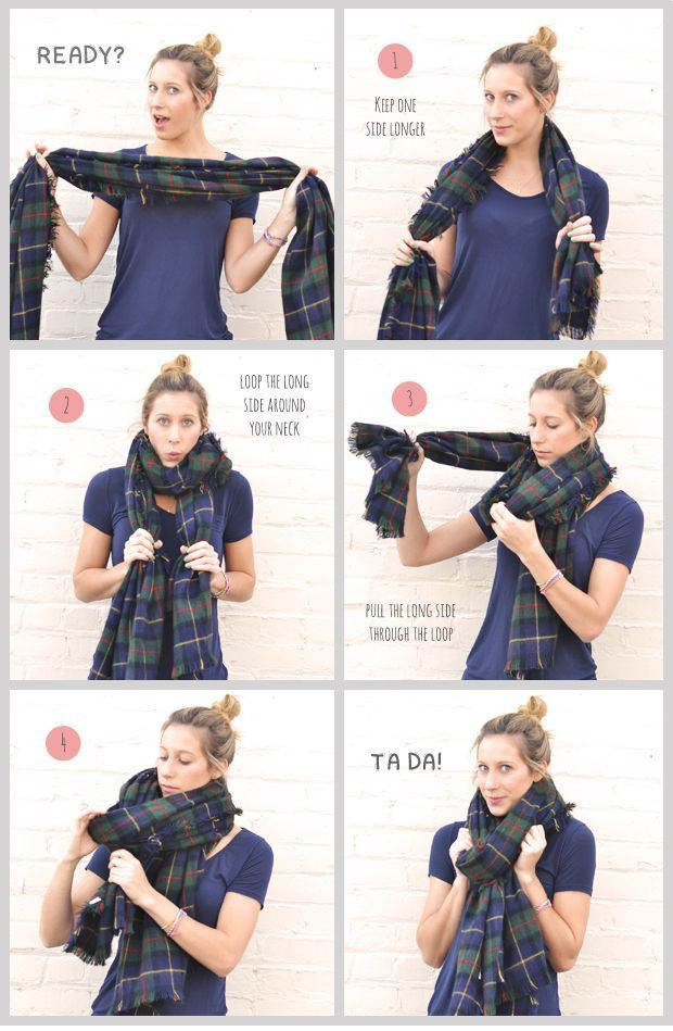 Comment porter et nouer une charpe charpe homme - Comment porter un petit foulard carre ...