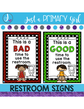 Bathroom Sign Up Sheet bathroom signs | it is, student and teacher pay teachers