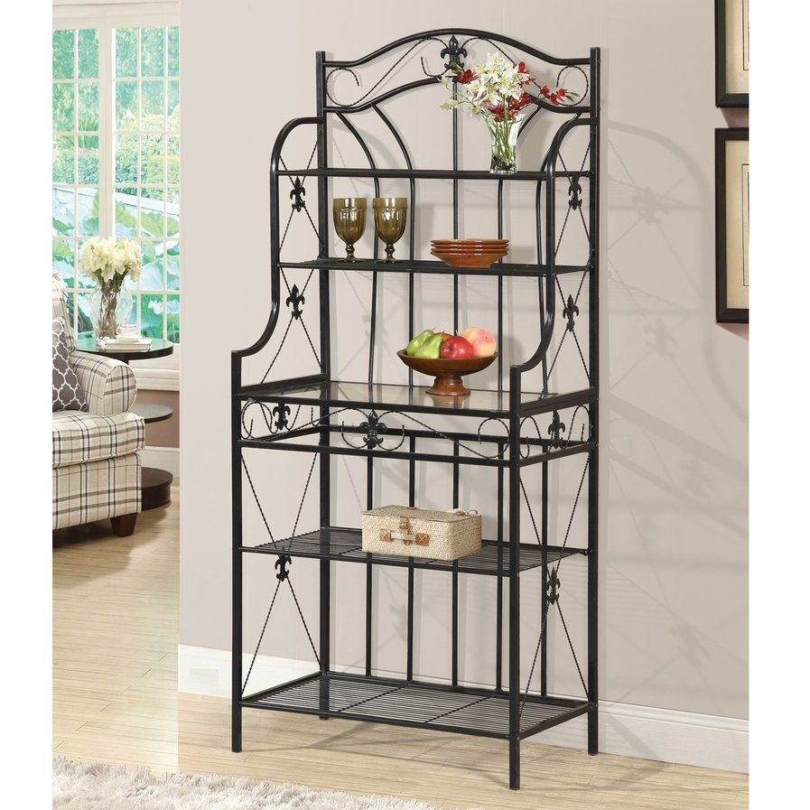 Baker S Rack Bakers Rack Kitchen Furniture Contemporary