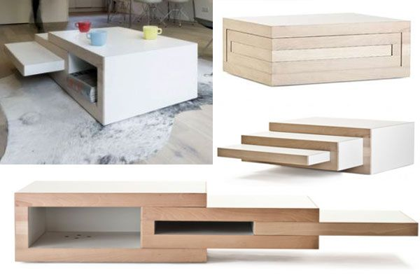 Save Some Room With These Space Saving Coffee Tables