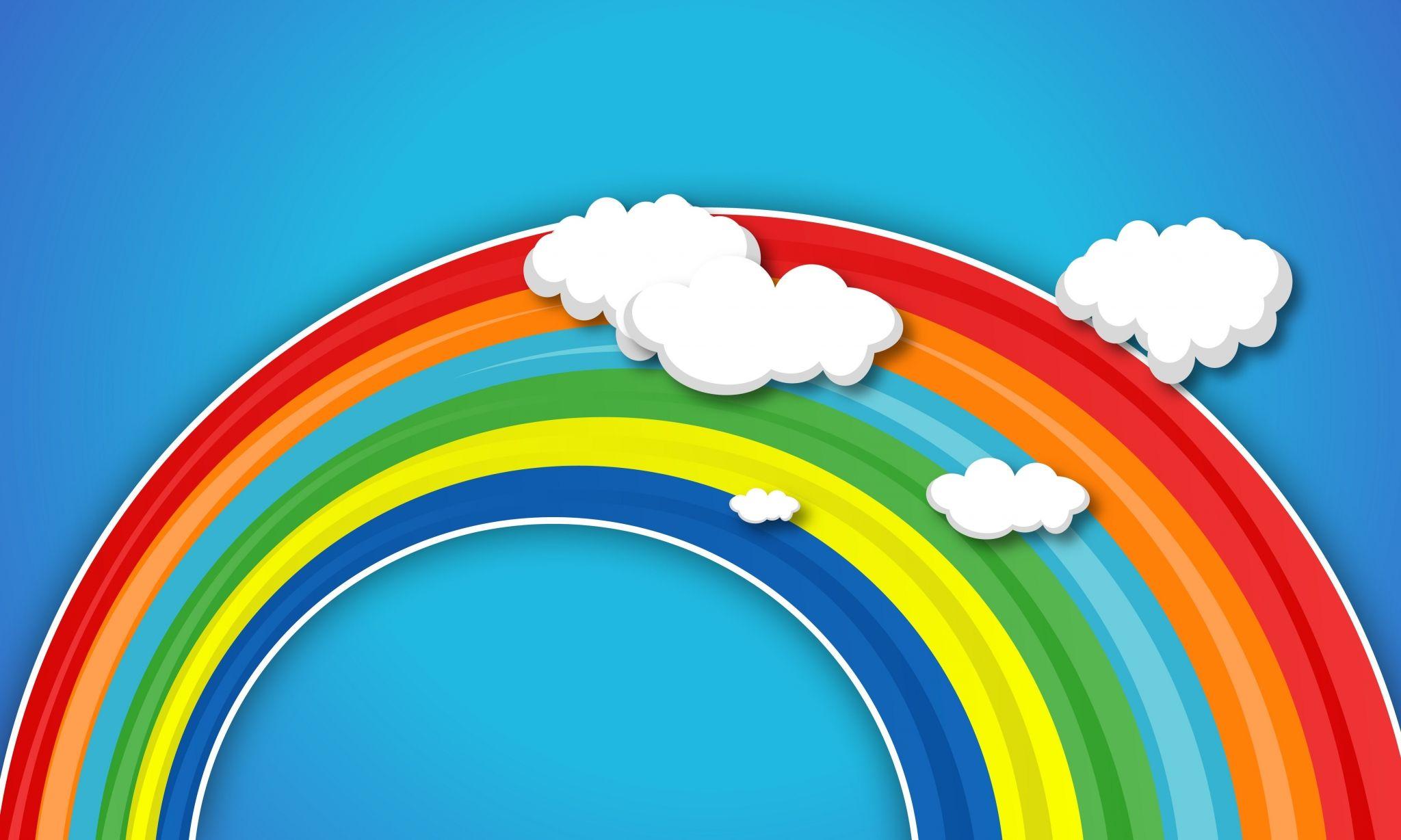2048x1228 Rainbow Late Backgrounds Desktop Dengan Gambar Pelangi