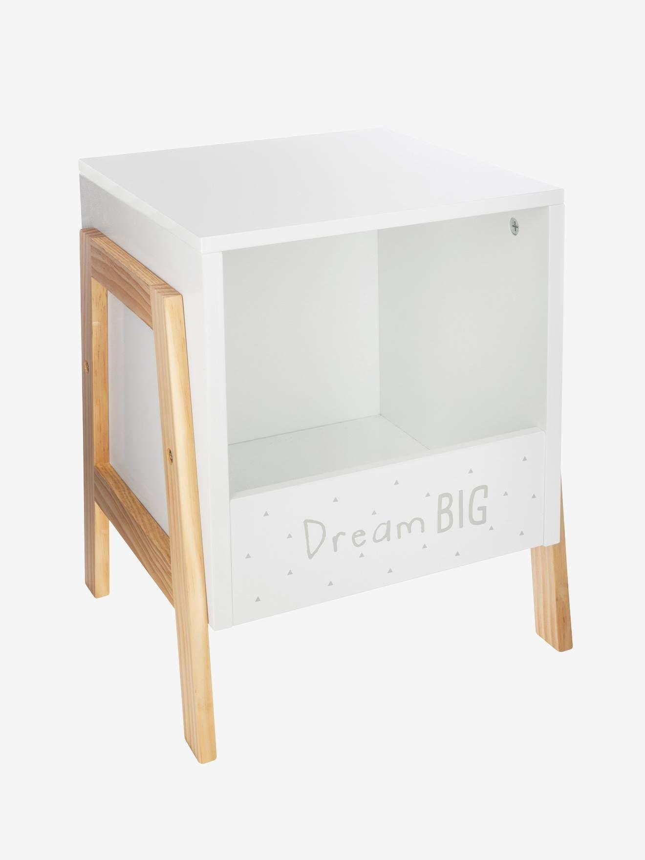 Chevet Dream Big Blanc Voici Un Chevet Sympa Et Tres Pratique Pour Y Poser La Lampe De Chevet Et Y Glisser Les Petites Chevet Design Chevet Idee Deco Maison