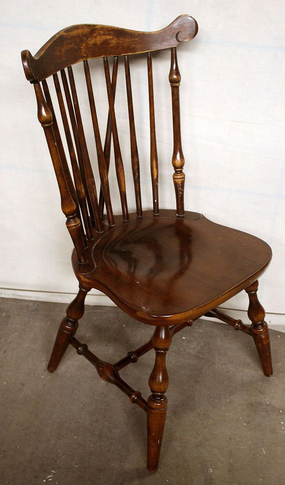 Antique Splat Tapered Back Windsor Chairs A Pair Windsor Chair How To Antique Wood Antiques