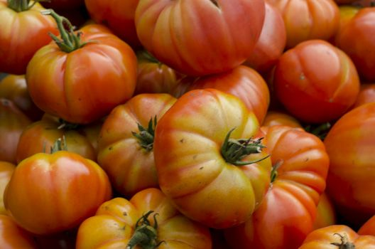 For some reason there were lots of tomatoes at the Notting Hill Farmers Market