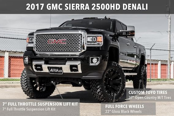 Diesel Brothers Denali >> 2017 Gmc Sierra 2500 Custom Lifted Truck Built Truck