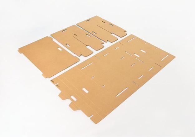 recycling paper for unique furniture design