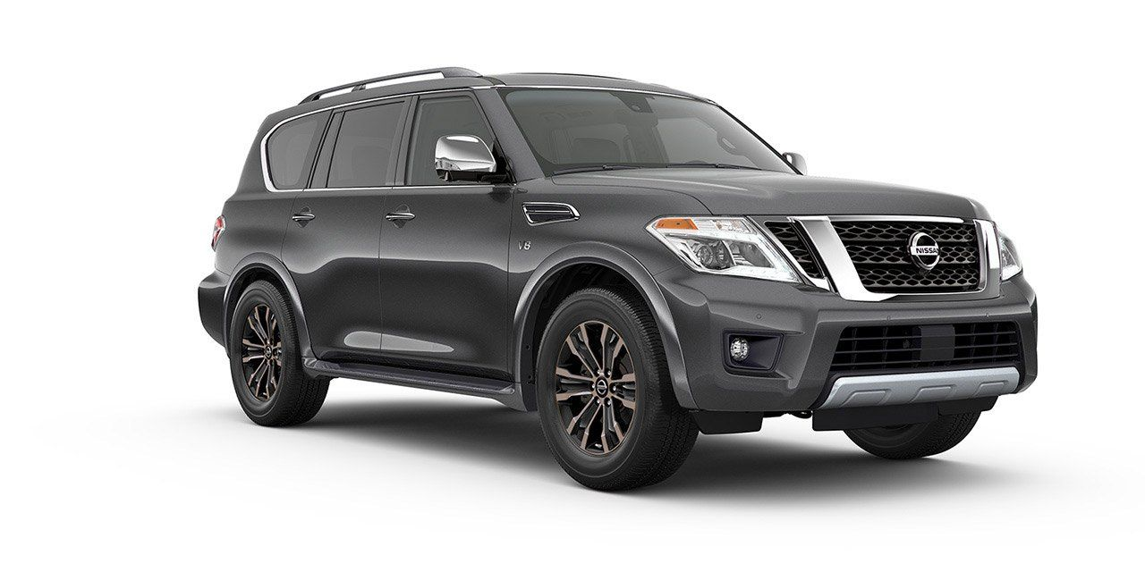 View Interior And Exterior Photos Accessories And Color Options For The All New Nissan Armada Armada Nissan