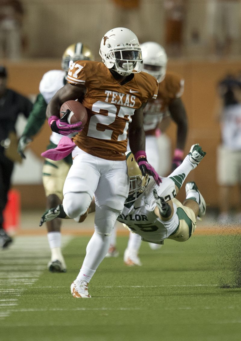 Daje Johnson (27) (With images) Texas longhorns football