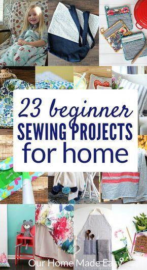 23 projets de couture faciles pour votre maison   – sewing project