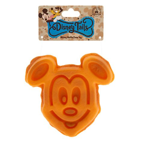 Disney Tails Pet Toy Mickey Mouse Waffle Chew Toy Large