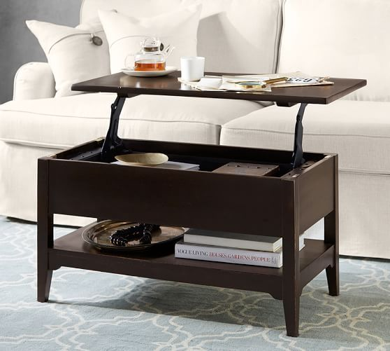 Portola Lift Coffee Table Coffee Table Pottery Barn