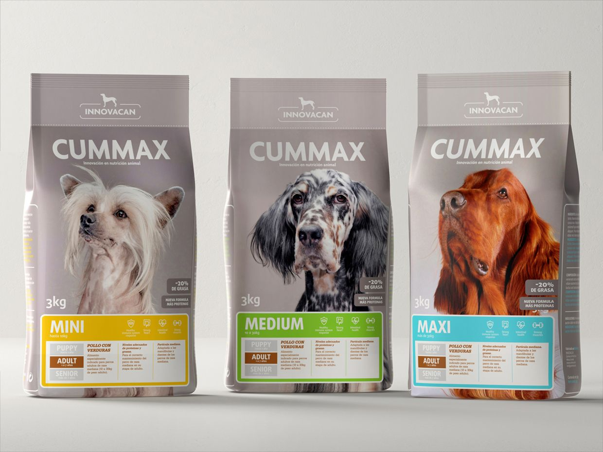 Assez pet dog food packaging bag design #emballage #plastique #aliments  PM41