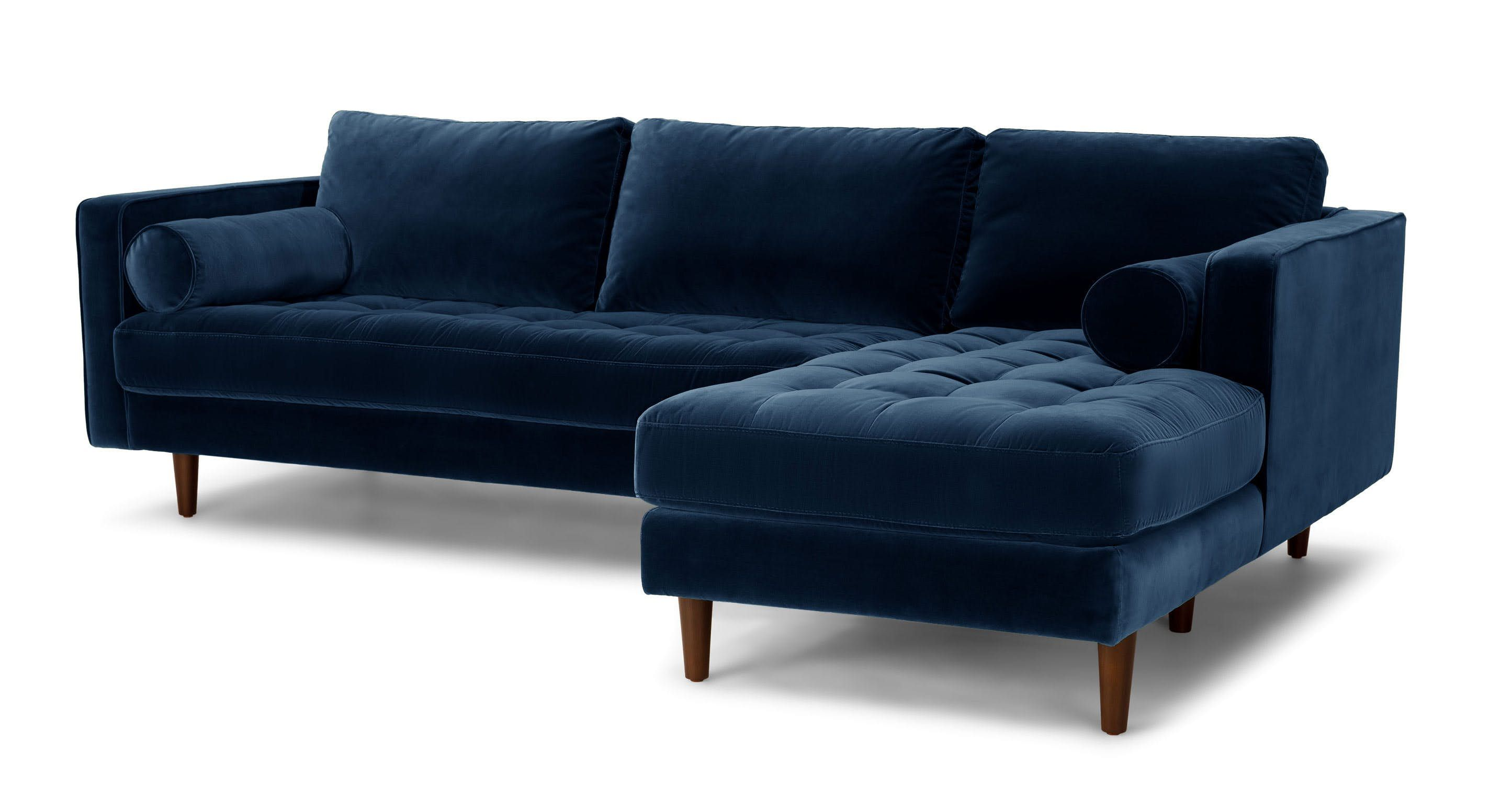 Sven Cascadia Blue Right Sectional Sofa Sectionals Modern Mid Century And Scandinavian Furniture Ecksofas L Förmiges Sofa Sofas Wohnzimmer