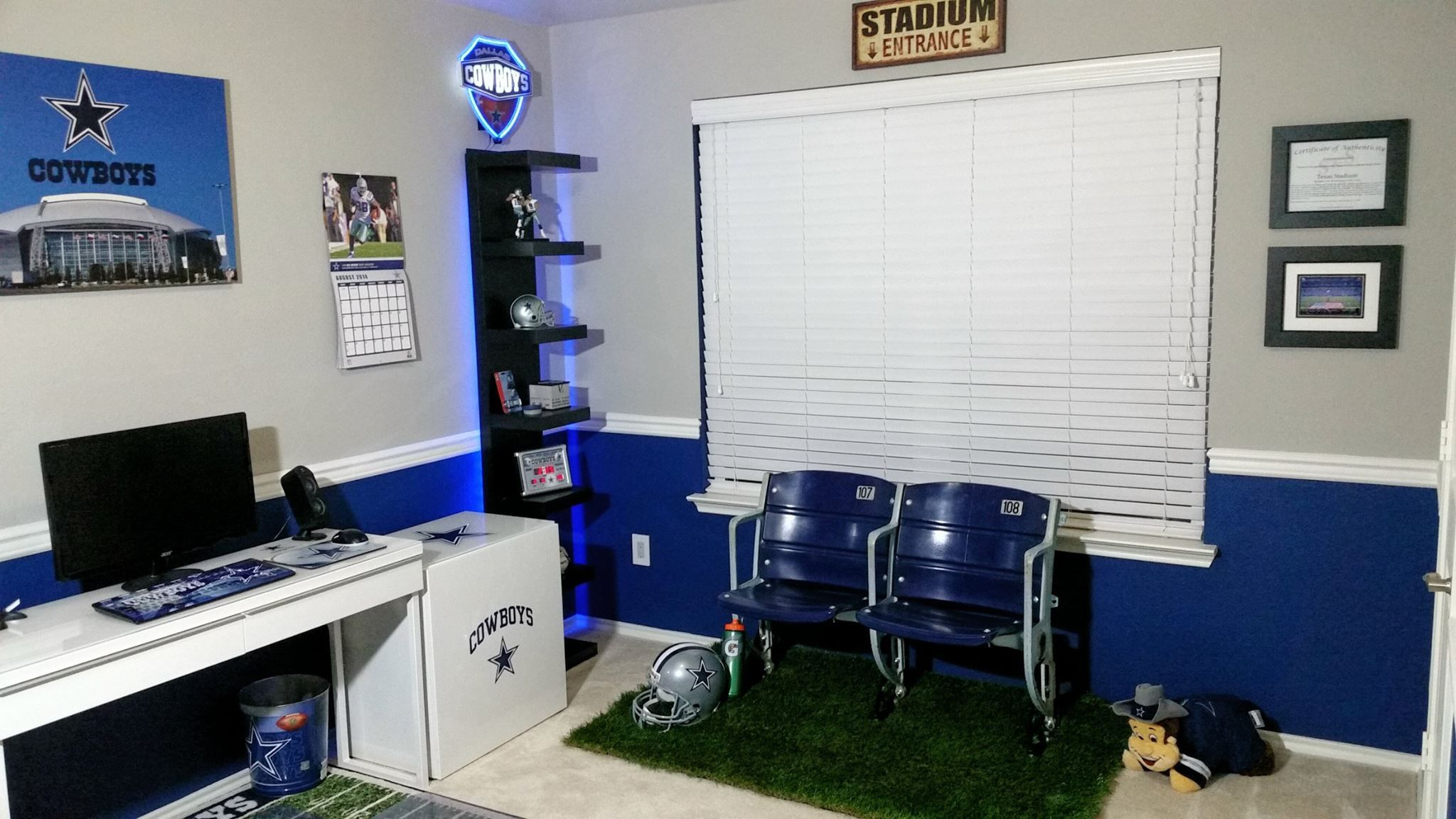 Dallas Cowboys Living Room Set