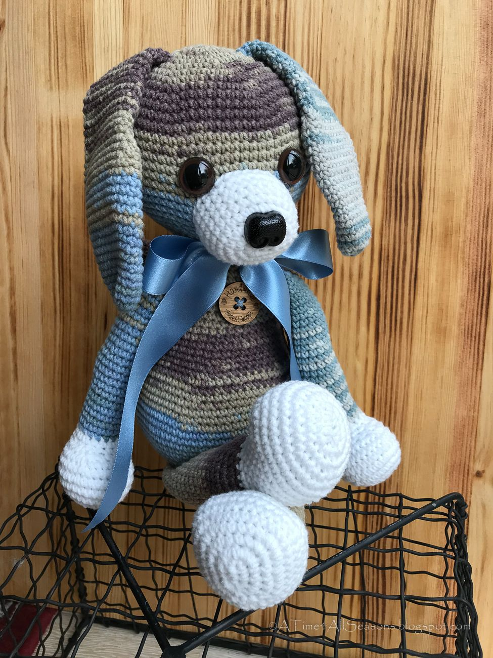 Free Crochet Pattern Puppy Dog Crafts Crochet Puppy Pattern