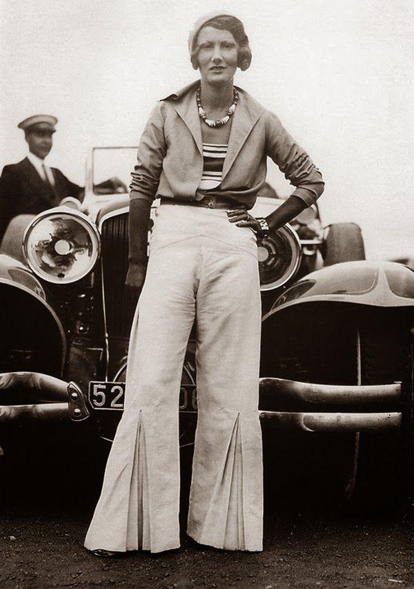 La curiosité du jeudi : des femmes en pantalon, mode des années 1930 ...