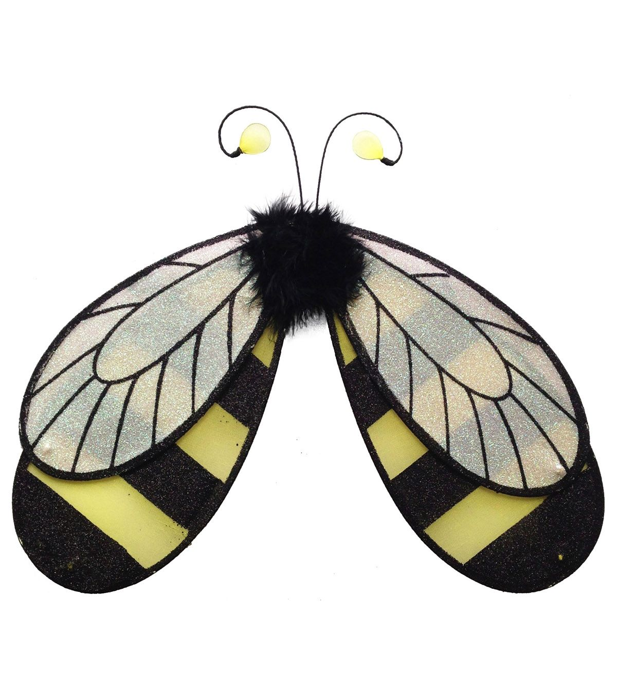 Kids Girls Bumble Bee Costume with Wings Set