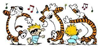 happy dance - Google Search | Calvin and hobbes, Calvin and hobbes ...