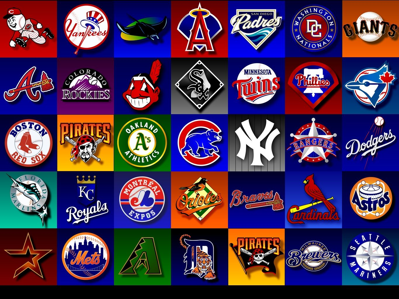 Which Is Baseball S Best Team Right Now Mlb Team Logos Baseball Teams Logo Mlb Teams