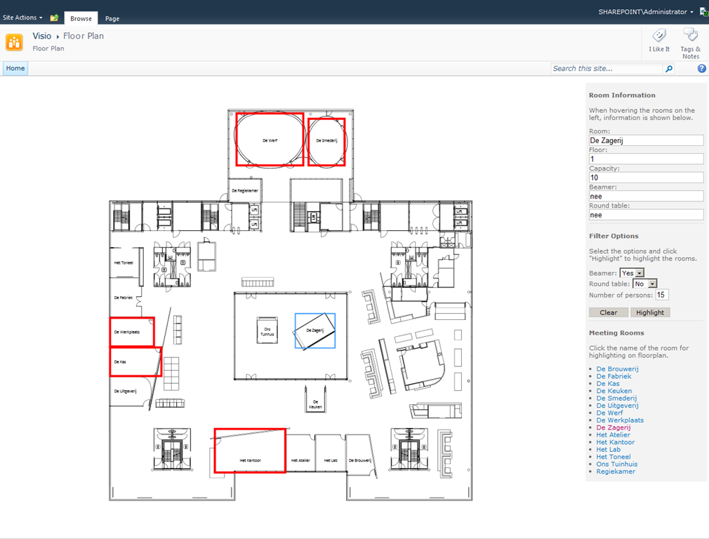 Posts About Visio Services On Bram De Jager S Sharepoint Blog Floor Plans Server Room How To Plan