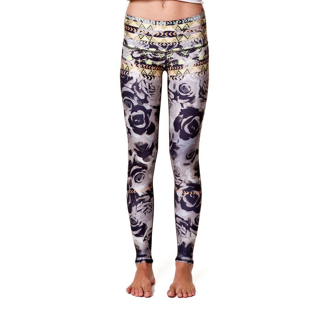 Desert Rose Teeki Yoga Pants--made From Recycled Plastic