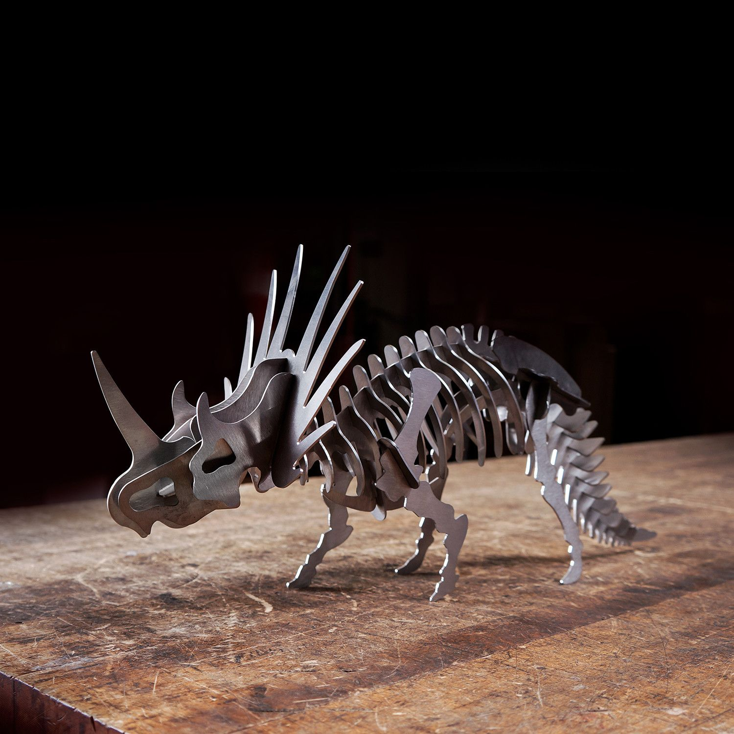 Styracosauraus 3D Puzzle 3d puzzles, Steel, Stainless