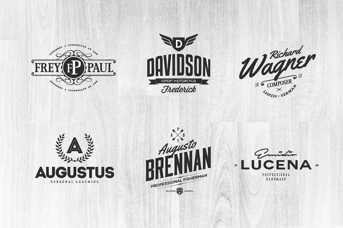 Name Based Logo Templates Logo templates, Templates