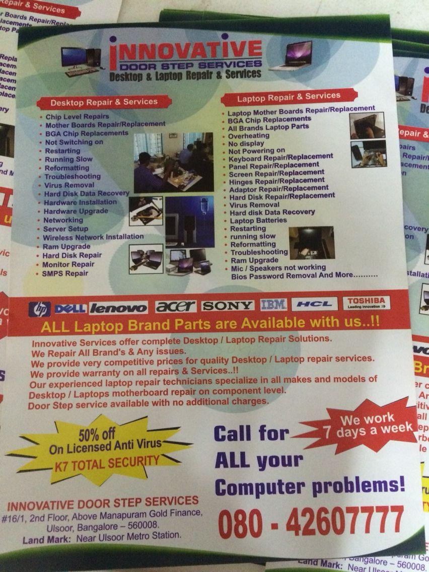 Laptop home repair