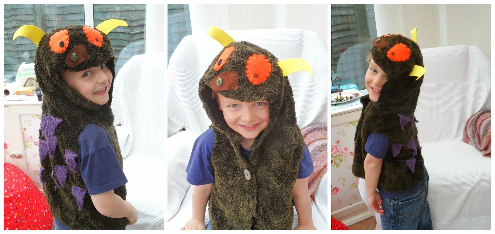 Simple Things: The Gruffalo, cute Gruffalo costume DIY