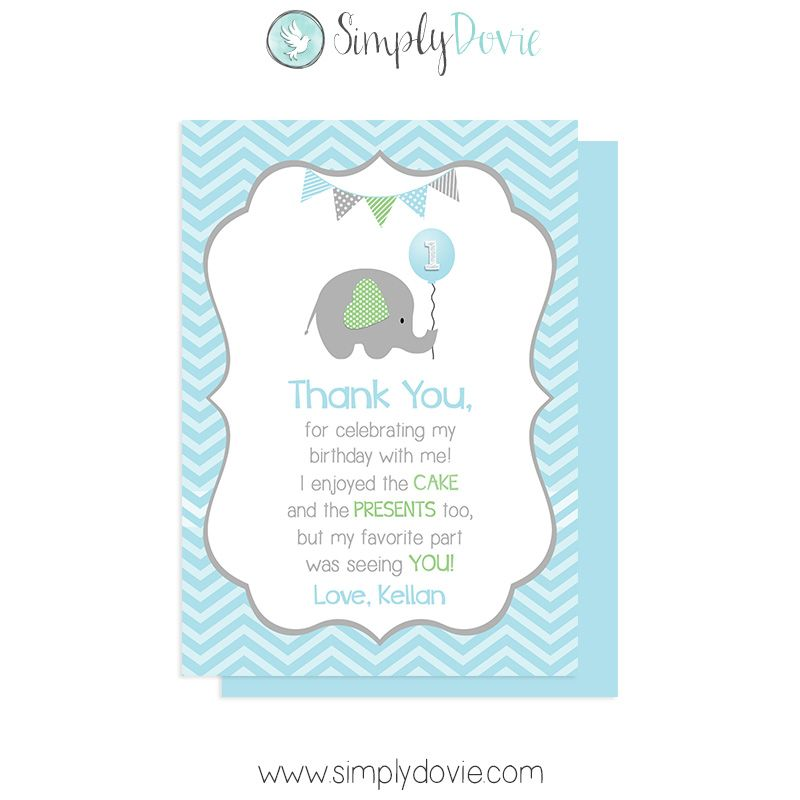 Our boy little peanut elephant birthday thank you cards will be the our boy little peanut elephant birthday thank you cards will be the perfect way to thank your family and friends for helping celebrate such a wonderful bookmarktalkfo Image collections