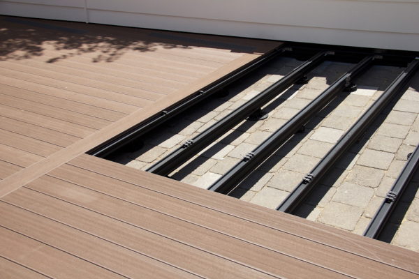 Outdure Decking Over Concrete Tiles Or Pavers My