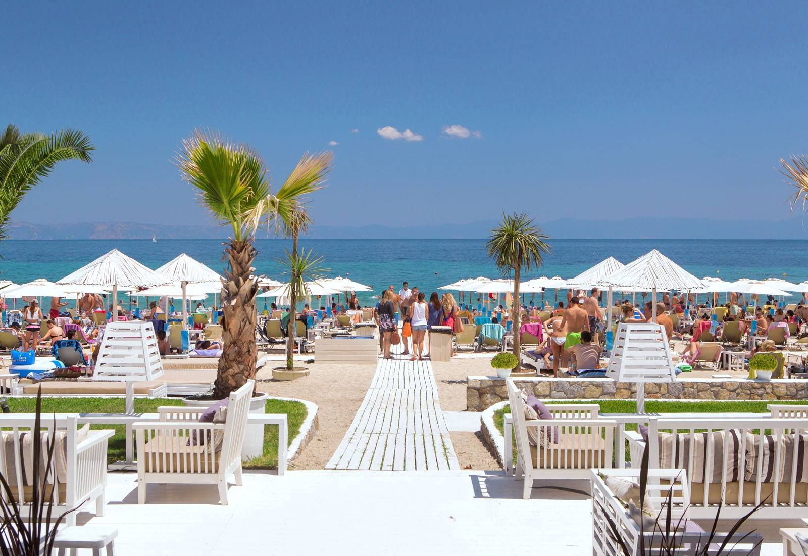 Beach Bar Manassu in Sithonia - Halkidiki - Greece