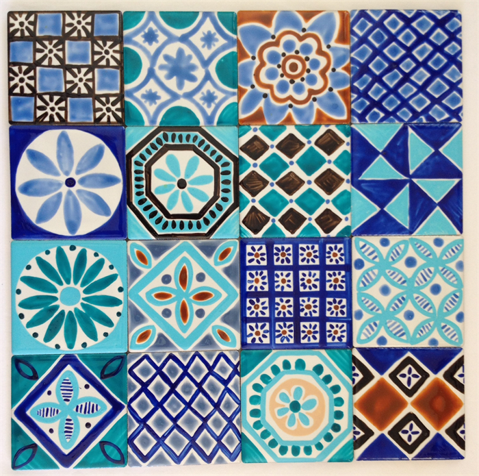 Decorative Tiles For Sale Moroccan Inspired Hand Painted Ceramic Tiles For Splashback