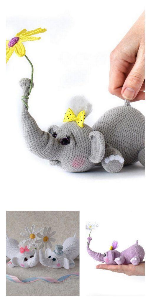 Photo of Amigurumi The Sailor Elephant Kostenloses Muster – Kostenlose Amigurumi-Muster -…