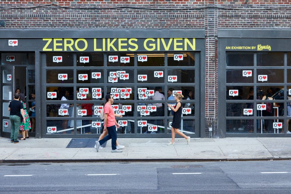 Droga5 Zero Likes Given in 2020 Brand experience