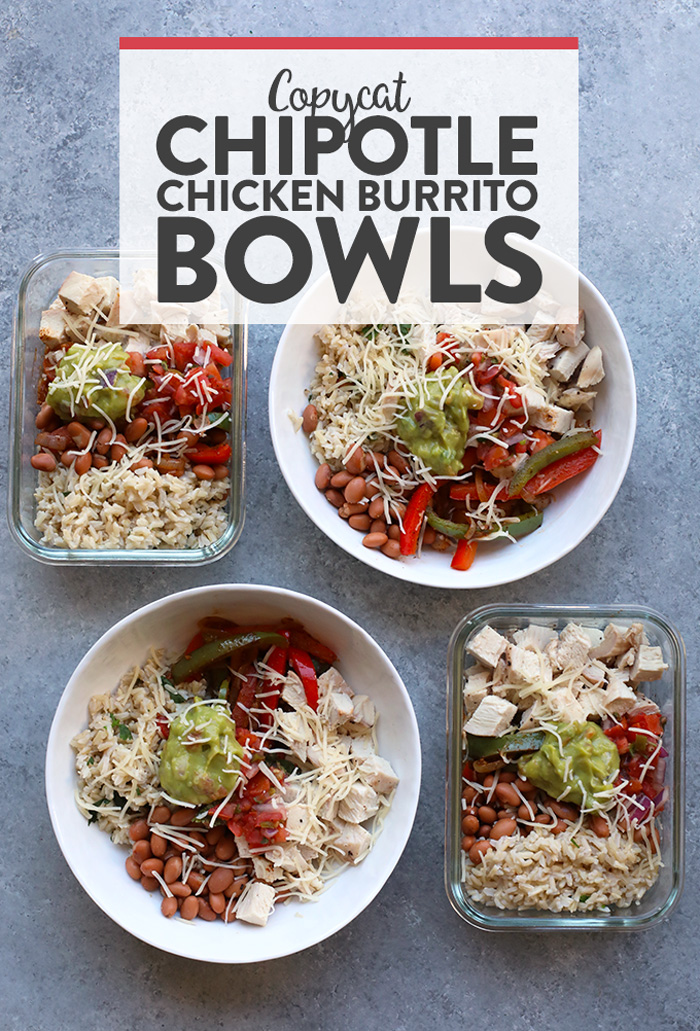 Save Your Money And Make Your Own Affordable Copycat Chipotle Chicken Burrito Bowls At Home These H Chicken Burrito Bowl Burrito Bowls Recipe Chicken Burritos