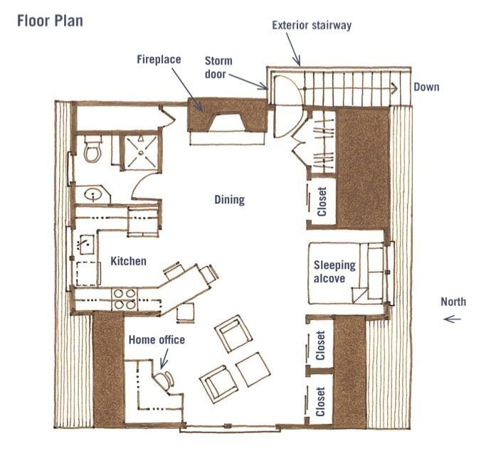 Image Result For 400 Square Feet Above Garage Studio Apartment With Kitchen And Show Studio Apartment Floor Plans Apartment Floor Plans Garage Studio Apartment