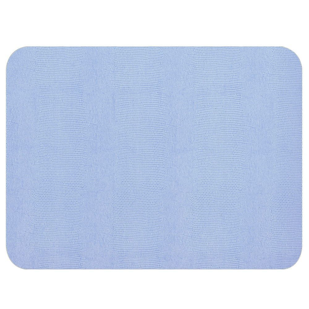 Lizard Felt Backed Placemat In Light Blue 1 Each Placemats Colorful Table Setting Blue Lizard