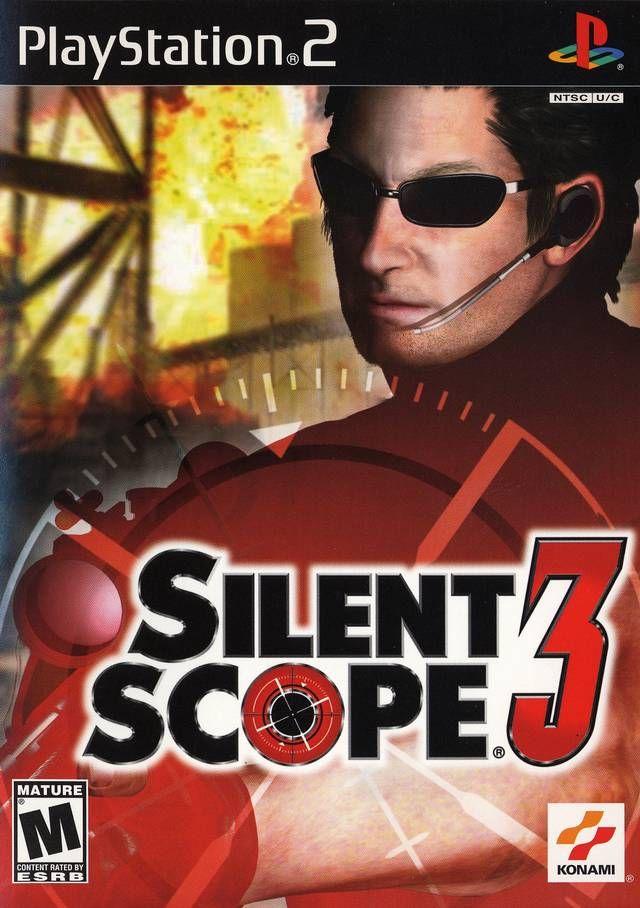 Silent Scope 3 Sony Playstation 2 Game Jogos Ps2 Jogos