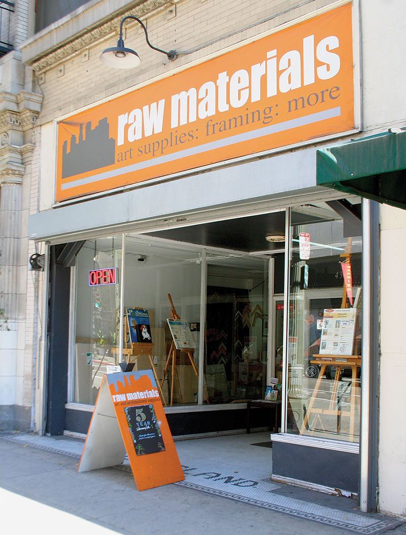 Pop Into Raw Materials Art Supplies And You Ll Find A Wide Array Of Fine