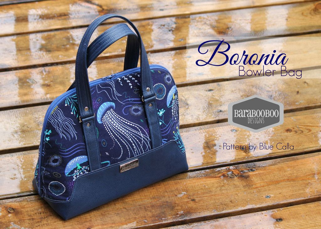 The Boronia Bowler Bag - PDF Sewing pattern | Taschen nähen, Nähen ...