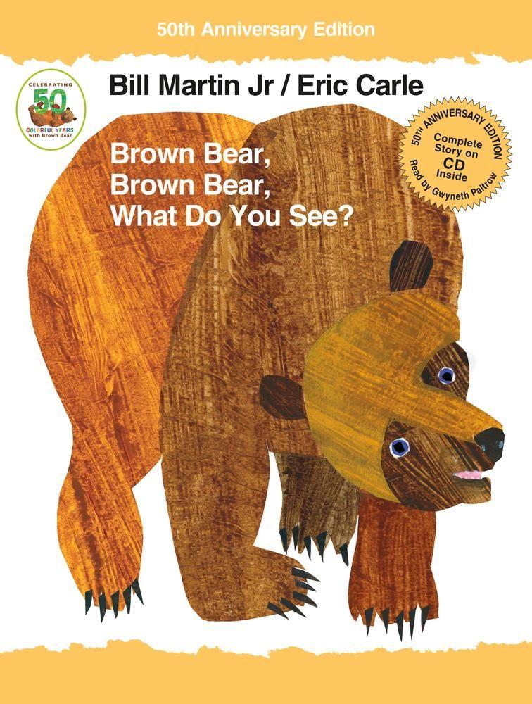 Brown bear brown bear what do you see hc bear