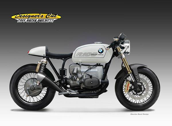 BMW R 100 VENOM MILK on Behance