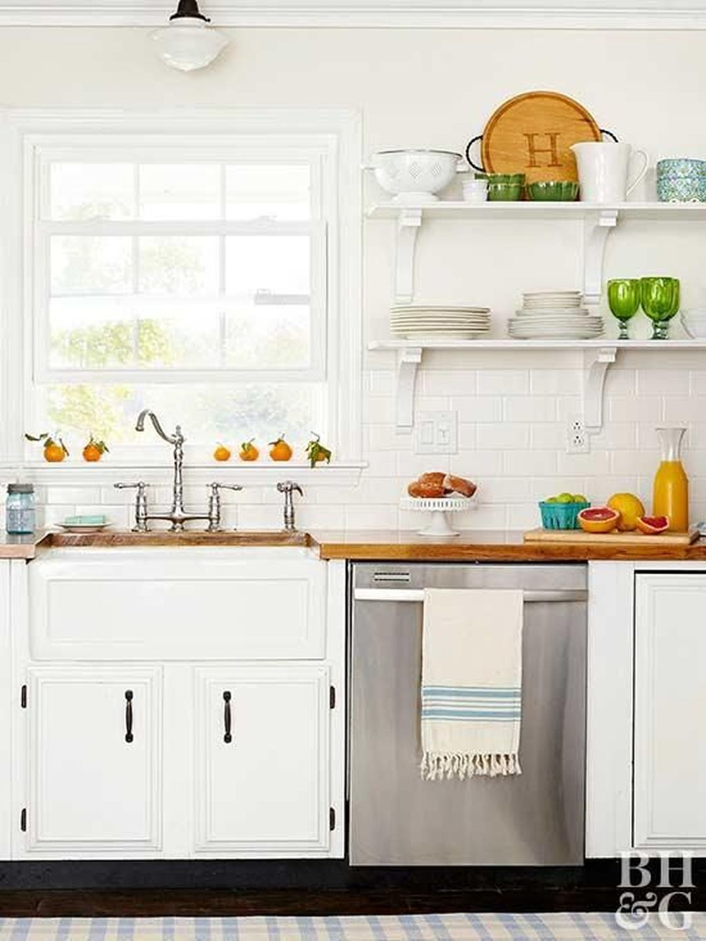 41 smart kitchen open shelves ideas small farmhouse kitchen smart kitchen kitchen on farmhouse kitchen small id=38764