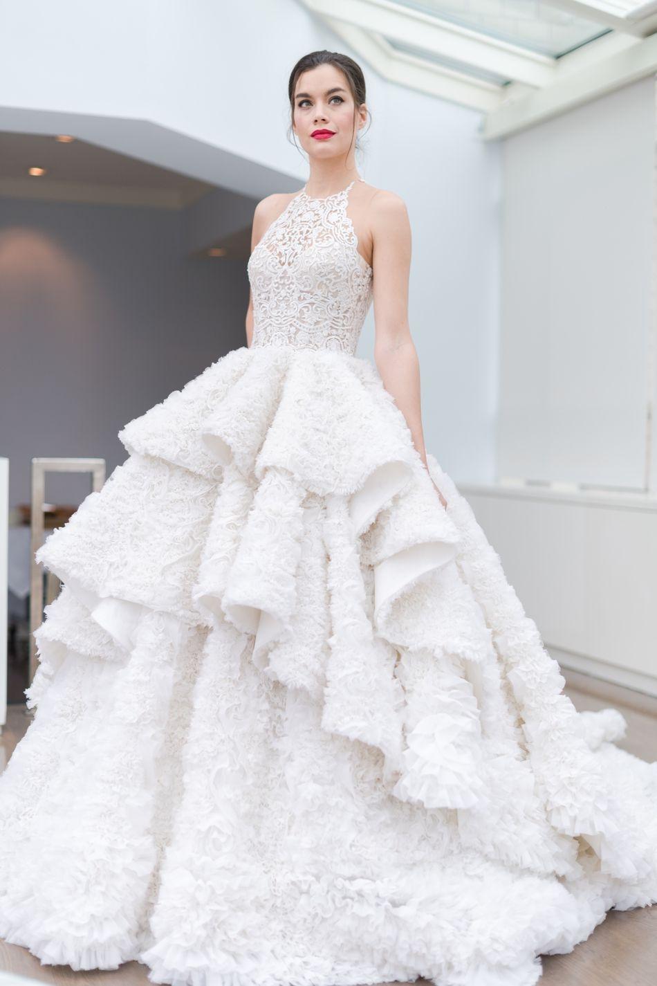 NY Bridal Fashion Week | SS18 Ines di Santo // Bridal Trends ...