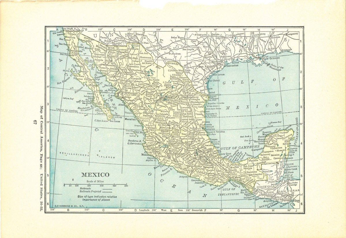 1923 Atlas of the World Vintage Map Pages - Central America ... on america shopping, america atlas, america continent, america national anthem, america attractions, america google earth, america globe, america outline, america hemisphere, america weather, america people, america logo, america vector, america water bottle, america text, america acronym, america area, america art, america activities, america city,